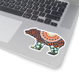 The bear necessities... The Jungle Book Quote Sticker - LitLifeCo.