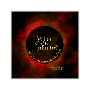 What is infinite... Siege and Storm Quote Sticker - LitLifeCo.