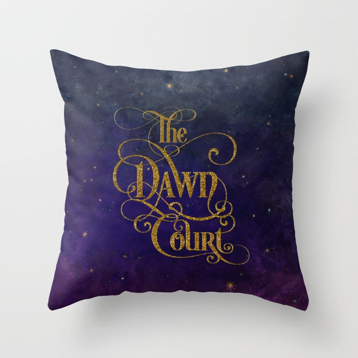 The Dawn Court Pillow - LitLifeCo.