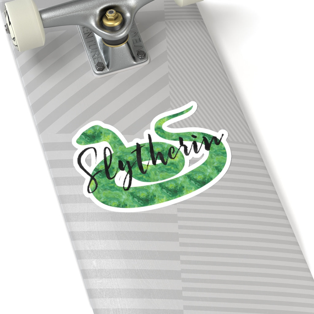 Slytherin Hogwarts House Pride Sticker - LitLifeCo.