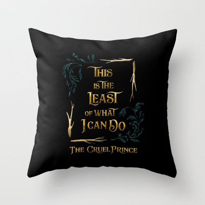 This is the least... Jude Duarte Pillow
