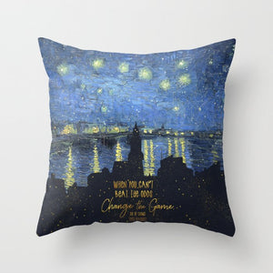When you can't beat the odds... Six of Crows Quote Pillow - LitLifeCo.