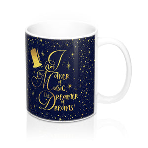 I am the maker of music... Charlie and the Chocolate Factory Quote Mug - LitLifeCo.