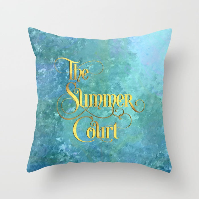 The Summer Court Pillow - LitLifeCo.
