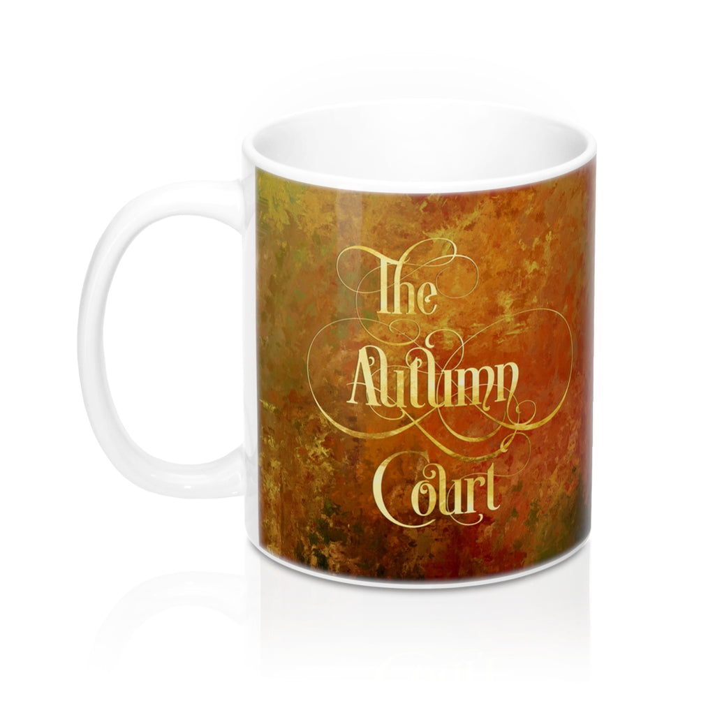 The Autumn Court Mug - LitLifeCo.