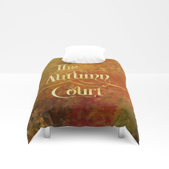 The Autumn Court Duvet Cover - LitLifeCo.