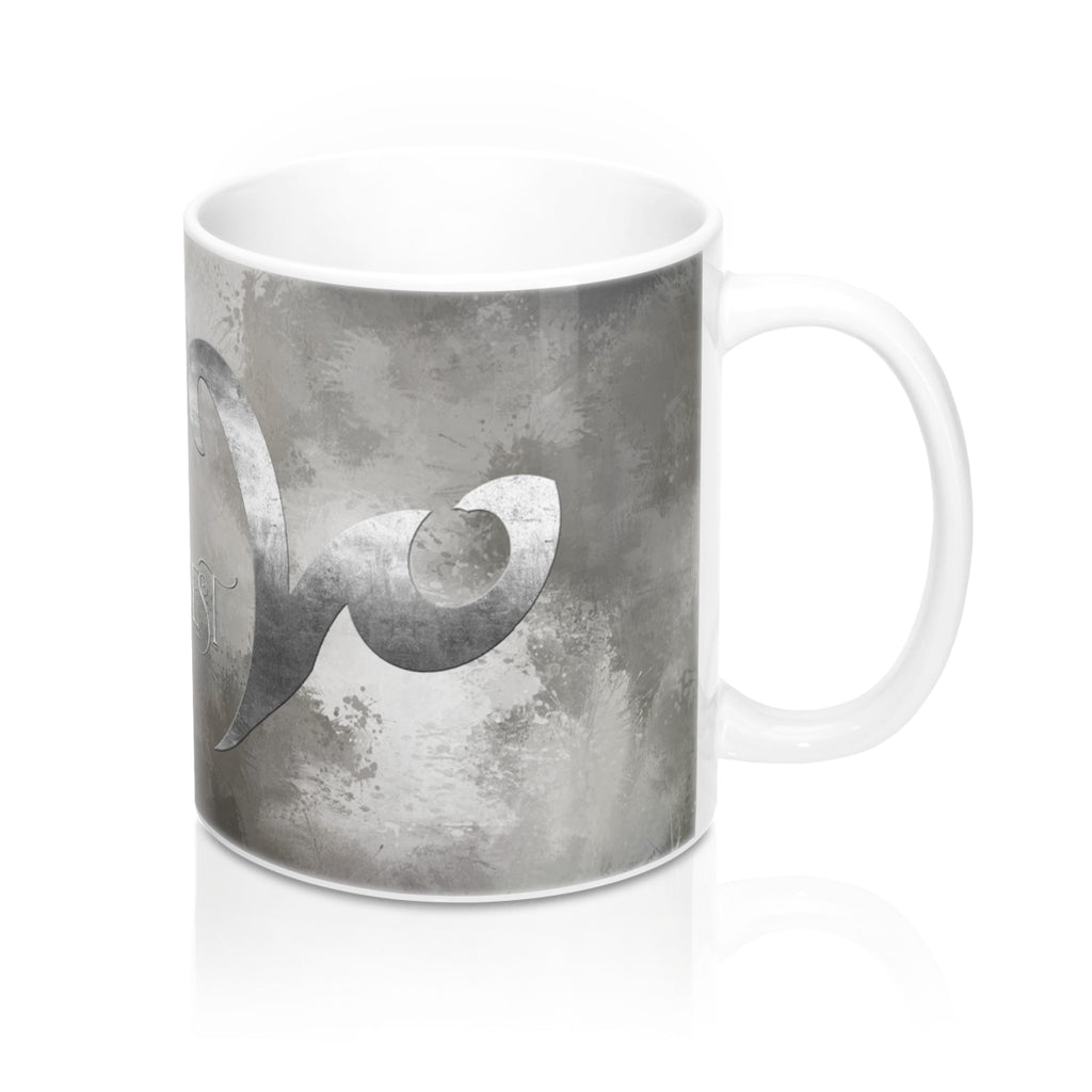 GRAY for knowledge best untold.  Shadowhunter Children's Rhyme Mug - LitLifeCo.