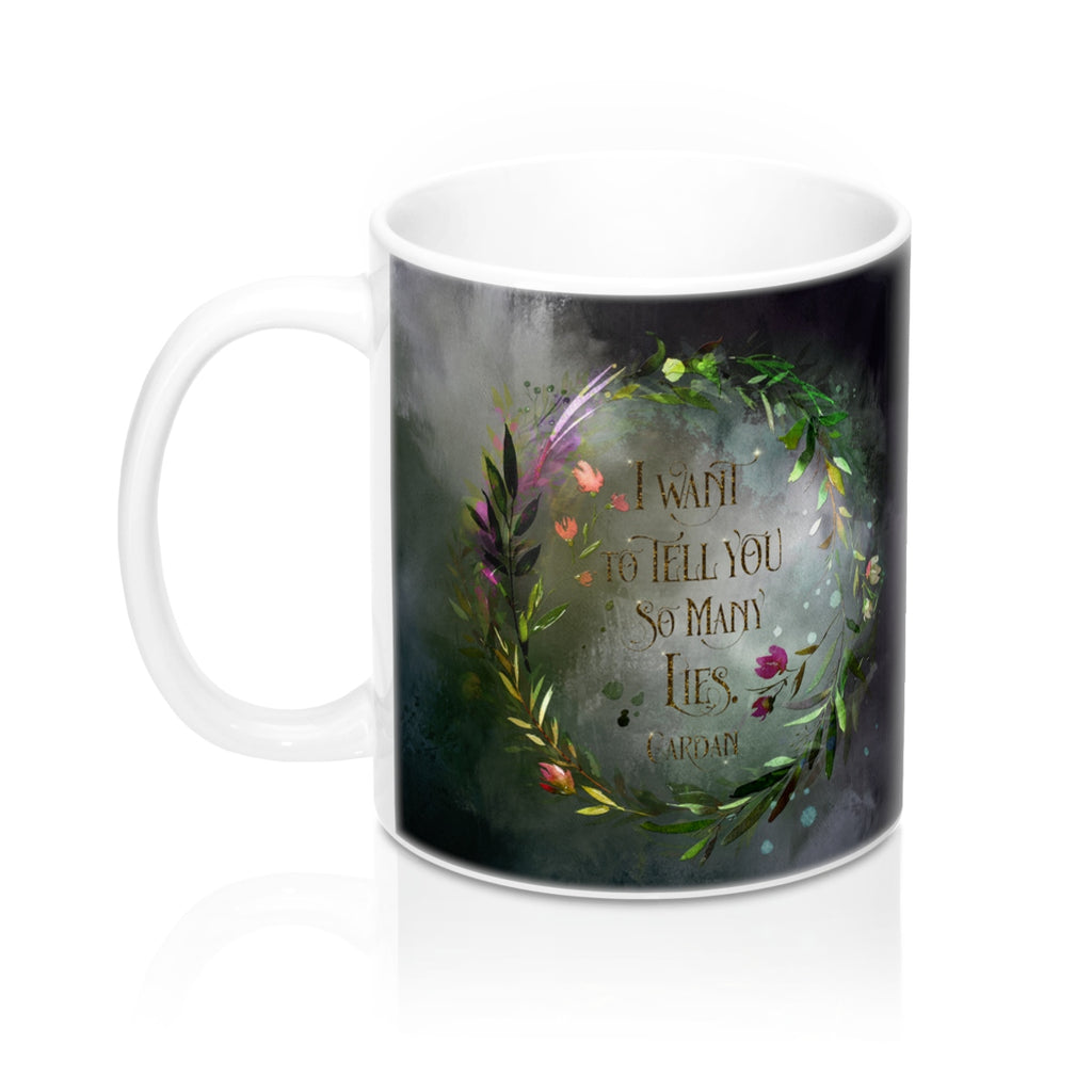 I want to tell you... Cardan Quote Mug - LitLifeCo.