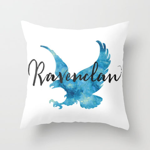 Ravenclaw Hogwarts House Pride Pillow - LitLifeCo.