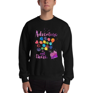 Adventure is out there. Up Quote Unisex Sweatshirt - LitLifeCo.