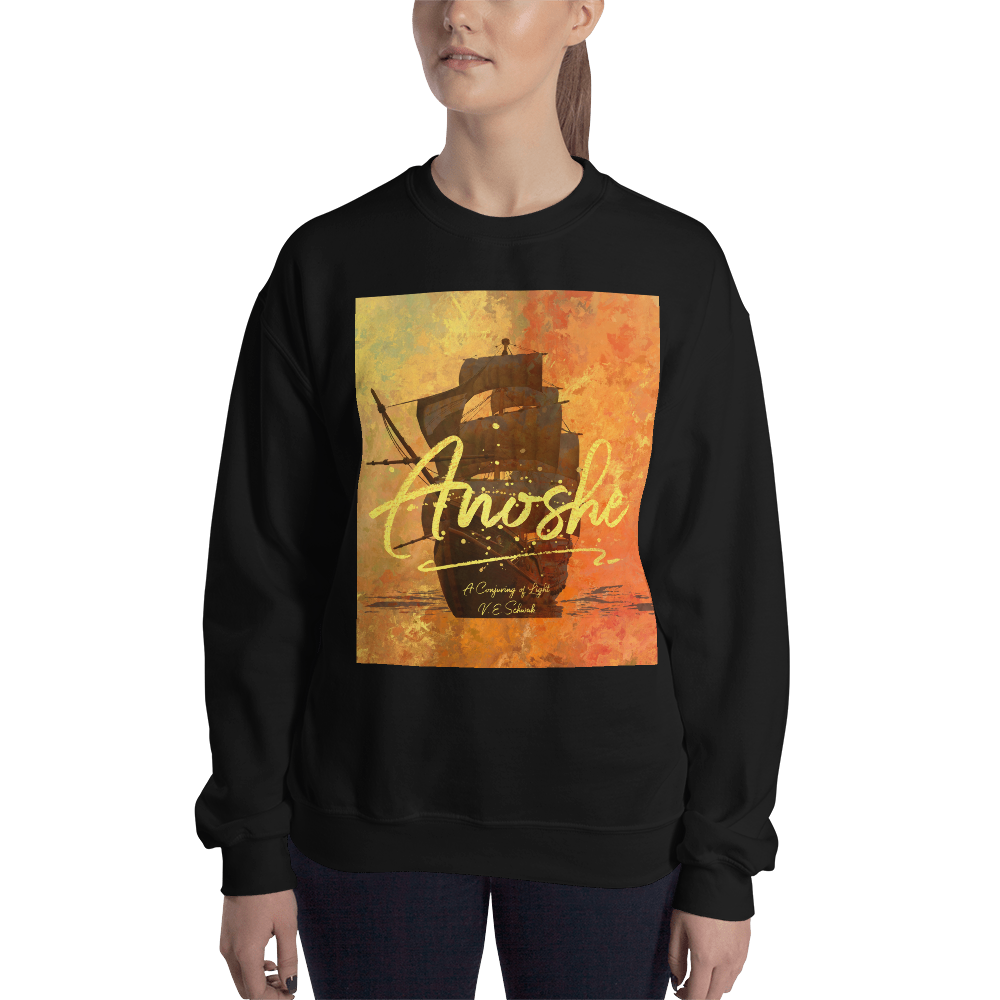 Anoshe. A Conjuring of Light (A Darker Shade of Magic Series) Quote Unisex Sweatshirt - LitLifeCo.
