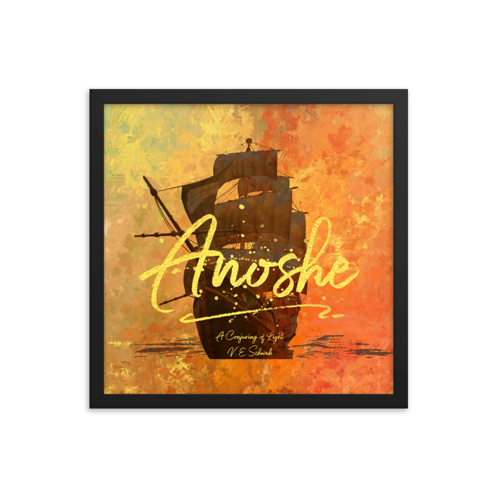 Anoshe. A Conjuring of Light Quote Art Print - LitLifeCo.