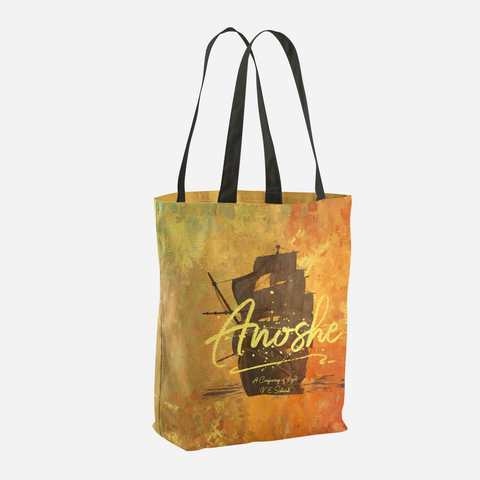 Anoshe. A Conjuring of Light Quote Tote Bag - LitLifeCo.