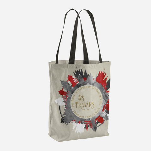 As travars. A Darker Shade of Magic (ADSOM) Quote Tote Bag