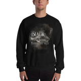 BLACK for hunting through the night. Shadowhunter Children's Rhyme Quote Unisex Sweatshirt - LitLifeCo.