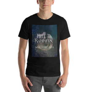 BLUE BANNERS when the lost return. Shadowhunter Children's Rhyme Quote Unisex Short Sleeved Shirt - LitLifeCo.