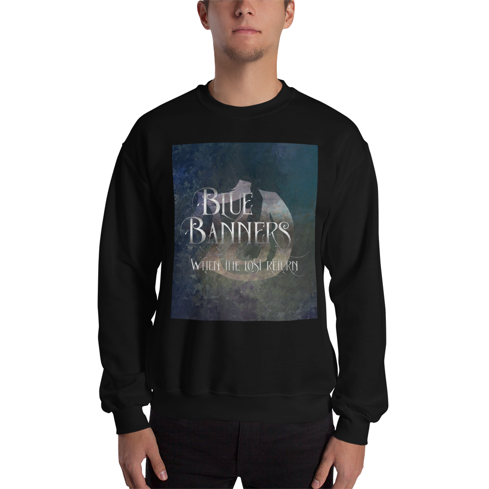 BLUE BANNERS when the lost return. Shadowhunter Children's Rhyme Quote Unisex Sweatshirt - LitLifeCo.