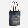 BLUE BANNERS when the lost return. Shadowhunter Children's Rhyme Quote Tote Bag - LitLifeCo.