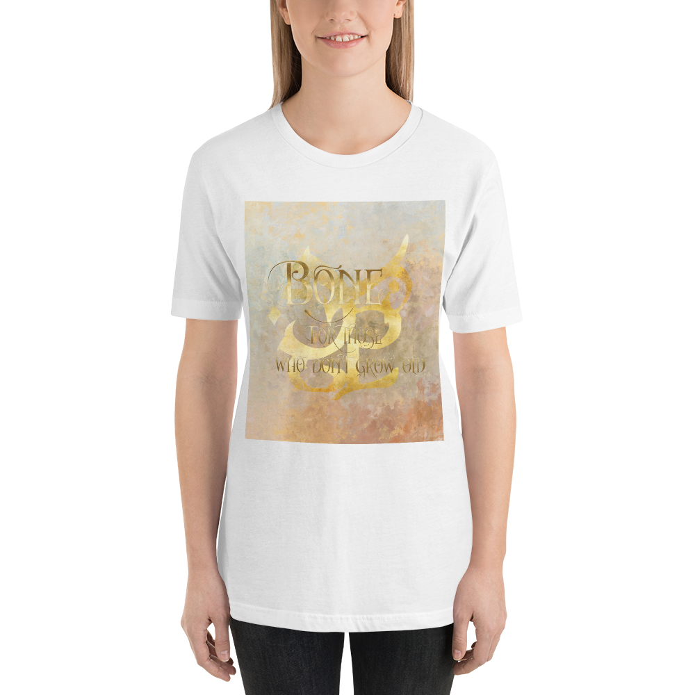 BONE for those who don't grow old. Shadowhunter Children's Rhyme Quote Unisex Short Sleeved Shirt - LitLifeCo.