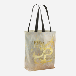 BONE for those who don't grow old. Shadowhunter Children's Rhyme Quote Tote Bag - LitLifeCo.