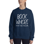 BOOK WHORE Unisex Sweatshirt - LitLifeCo.