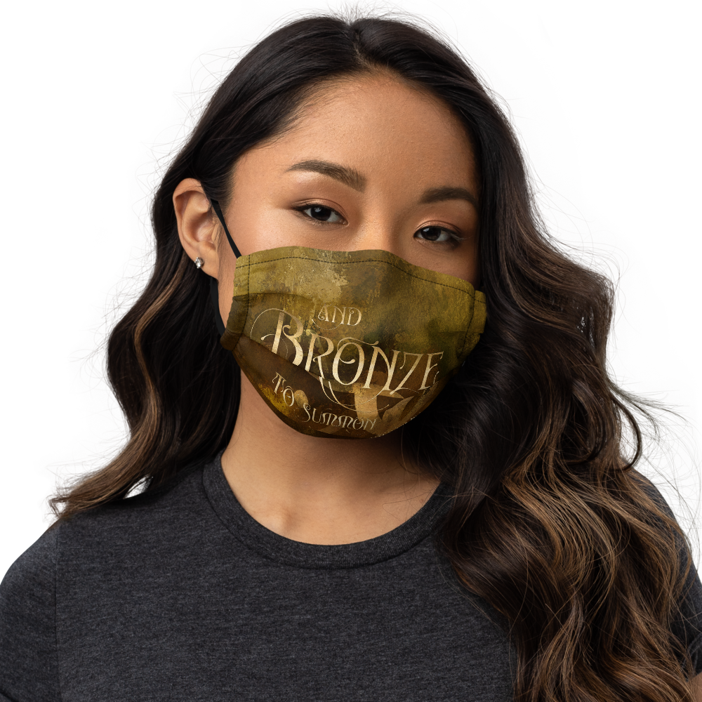 BRONZE Shadowhunter Children's Rhyme Premium Face Mask