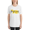 Hufflepuff Hogwarts House Pride Ladies' Short Sleeved Shirt - LitLifeCo.