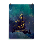 Be what you wish. Kingdom of Ash (Throne of Glass Series) Quote Art Print - LitLifeCo.