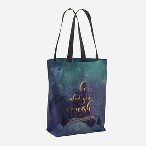 Be what you wish. Kingdom of Ash (Throne of Glass Series) Quote Tote Bag - LitLifeCo.
