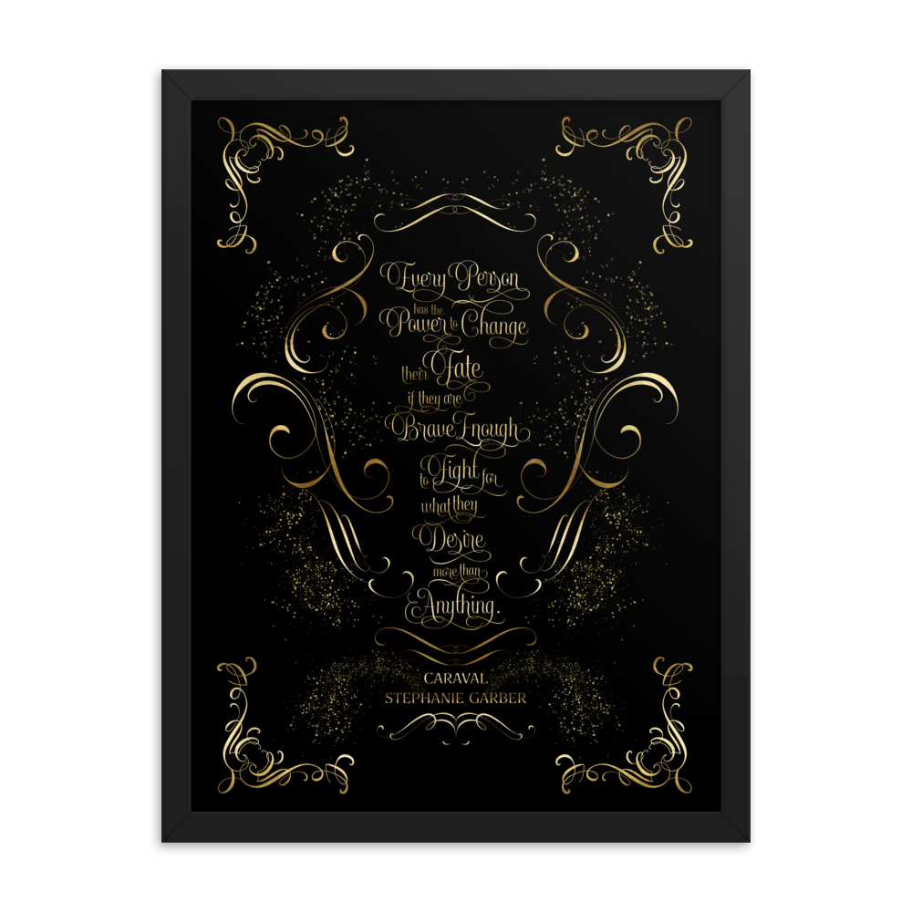 Every person has the power... Caraval Quote Art Print - LitLifeCo.