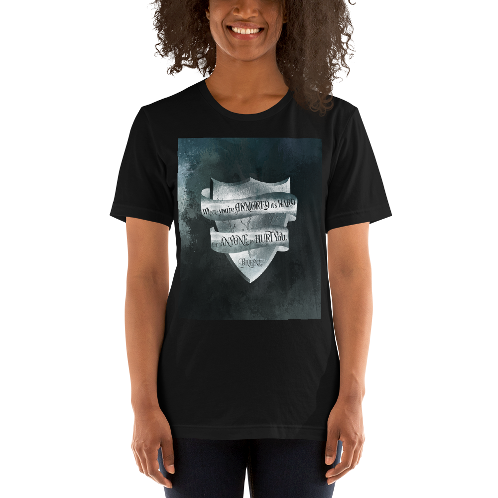 When you're armored... Game of Thrones (A Song of Ice and Fire) Quote Unisex Short Sleeved Shirt - LitLifeCo.