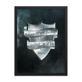 When you're armored... Game of Thrones (A Song of Ice and Fire) Quote Art Print - LitLifeCo.