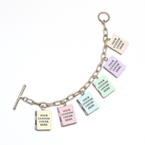 Custom Book Locket Bracelet - LitLifeCo.