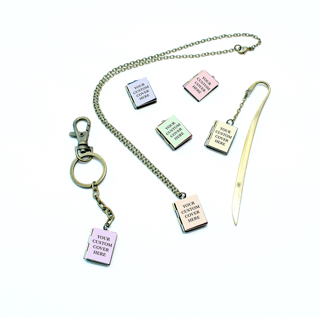 Custom Book Locket - Literary Lifestyle Company