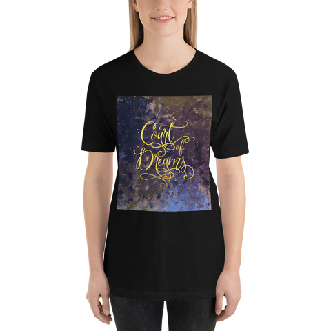 Court of Dreams. A Court of Wings and Ruin (ACOWAR) Unisex Short Sleeved Shirt - LitLifeCo.
