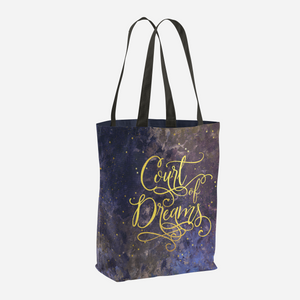 Court of Dreams. A Court of Wings and Fury (ACOWAR) Tote Bag - LitLifeCo.