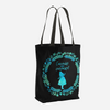 Curiouser... Alice in Wonderland Tote Bag - Literary Lifestyle Company