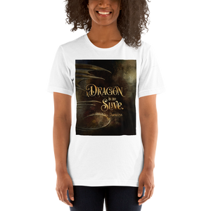 A dragon is no slave. Game of Thrones (A Song of Ice and Fire) Quote Unisex Short Sleeved Shirt - LitLifeCo.