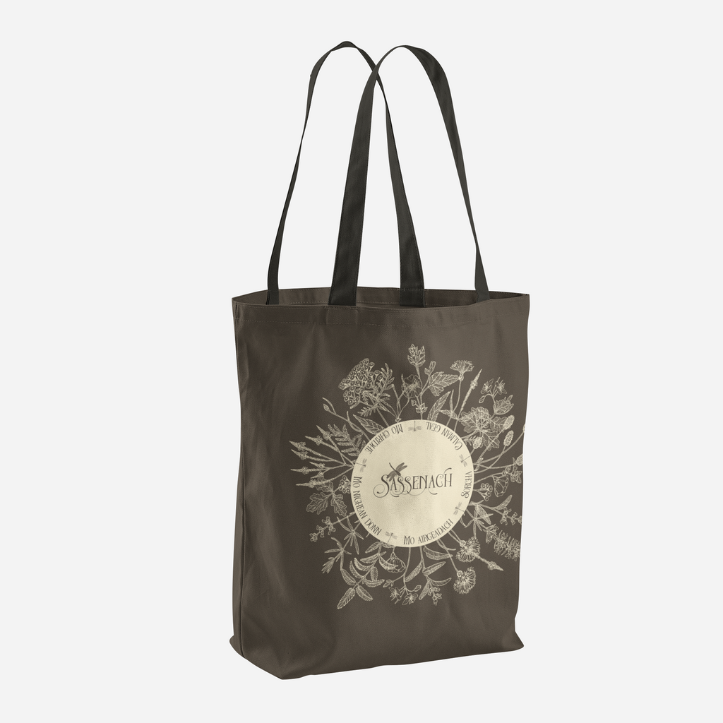 Dear Sassenach in Sepia Tote Bag