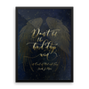 Don't let the hard days... A Court of Mist and Fury Art Print - Literary Lifestyle Company
