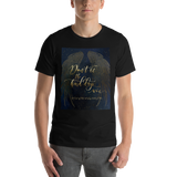 Don't let the hard days win. A Court of Mist and Fury (ACOMAF) Quote Unisex Short Sleeved Shirt - LitLifeCo.