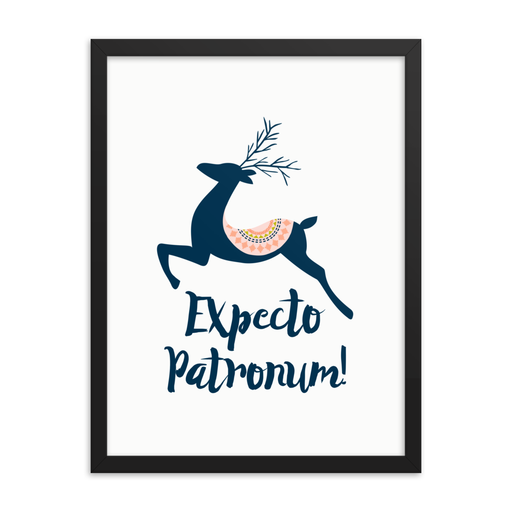 Expecto Patronum! Harry Potter Art Print - LitLifeCo.