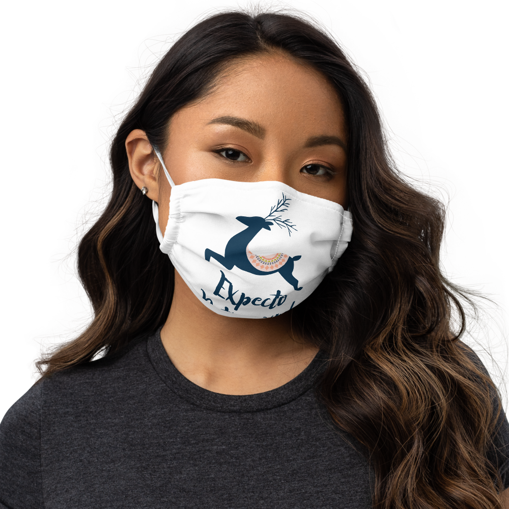 Expecto Patronum! Harry Potter Premium Face Mask