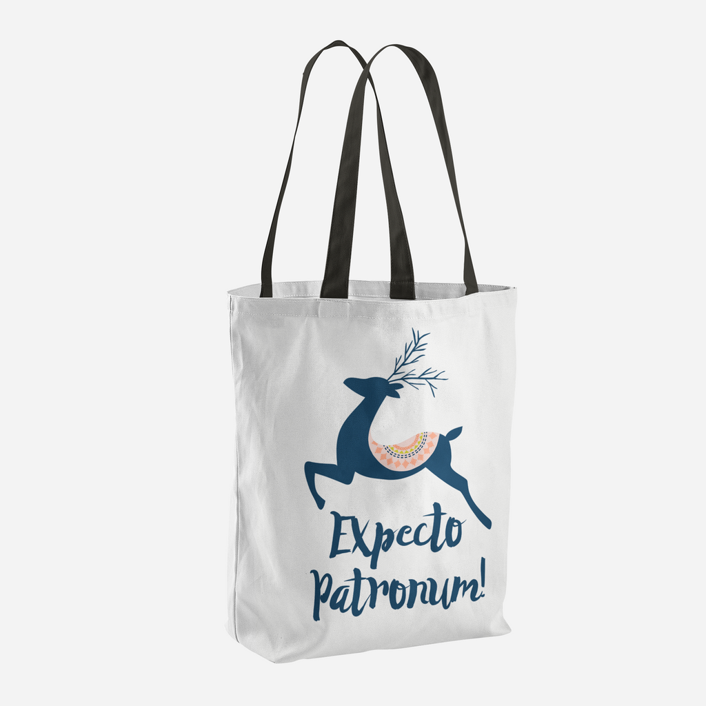 Expecto Patronum! Harry Potter Spell Tote Bag - LitLifeCo.