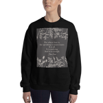 For where love is... Claire Fraser Quote Unisex Sweatshirt - LitLifeCo.