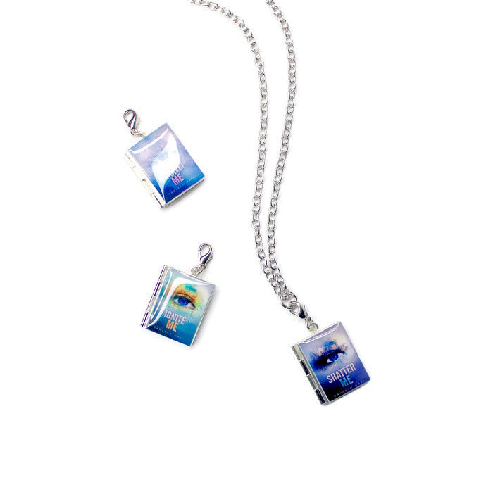 The Juliette Chronicles Interchangeable Book Locket Necklace - LitLifeCo.