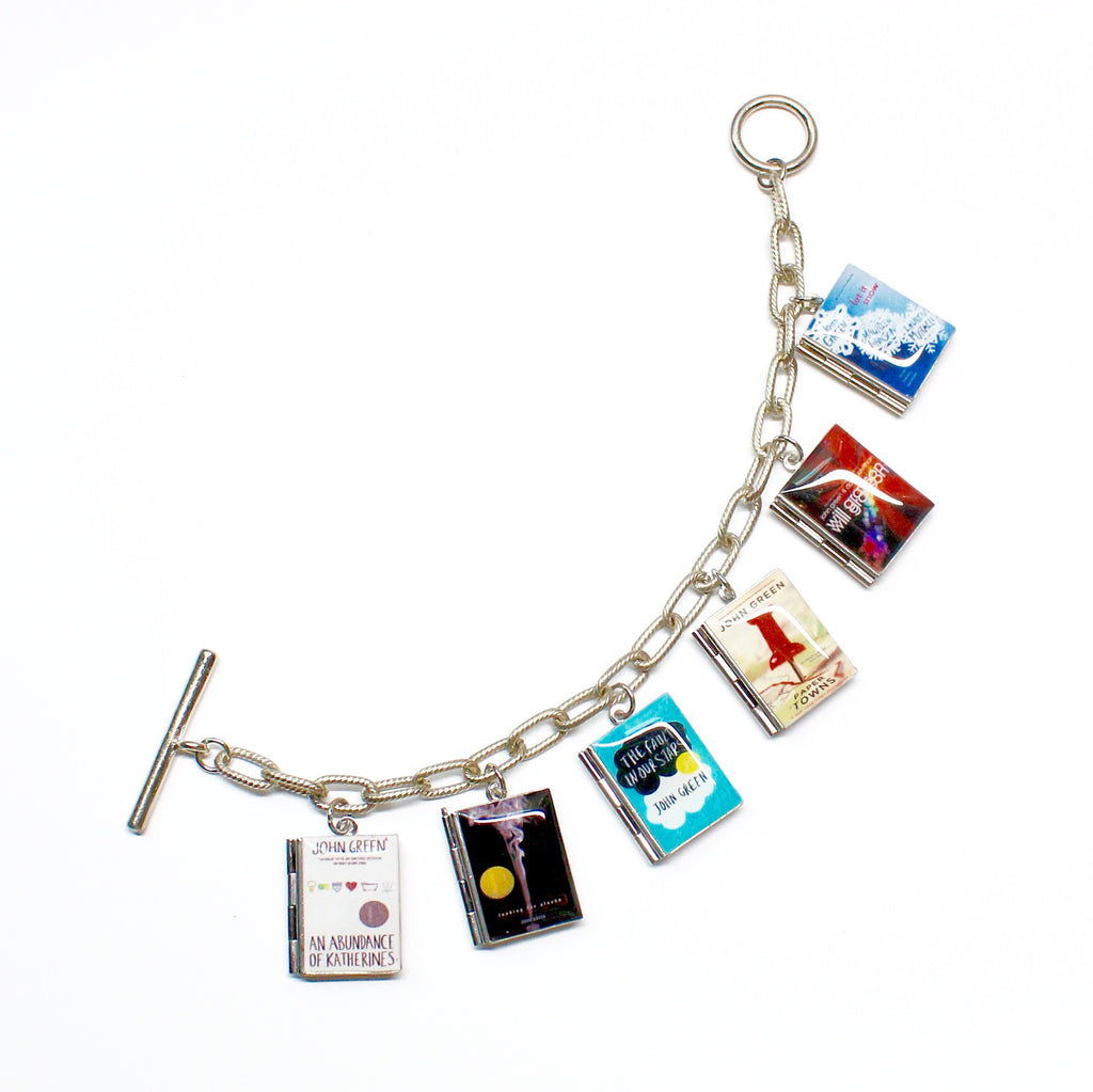 John Green Collection Book Bracelet - LitLifeCo.