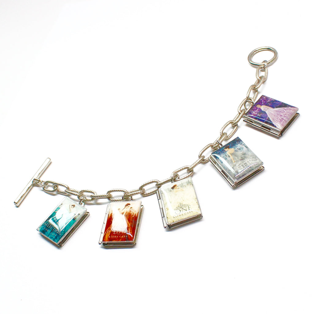 The Selection Series Book Bracelet - Literary Lifestyle Company