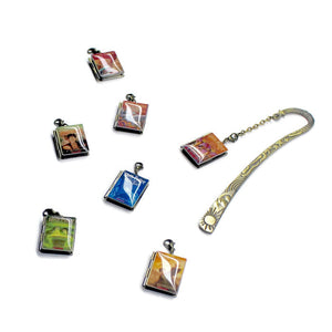 Harry Potter Interchangeable Book Locket Bookmark - LitLifeCo.