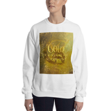 GOLD for a bride in her wedding gown. Shadowhunter Children's Rhyme Quote Unisex Sweatshirt